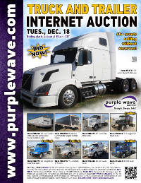 View December 18 Truck and Trailer Auction flyer