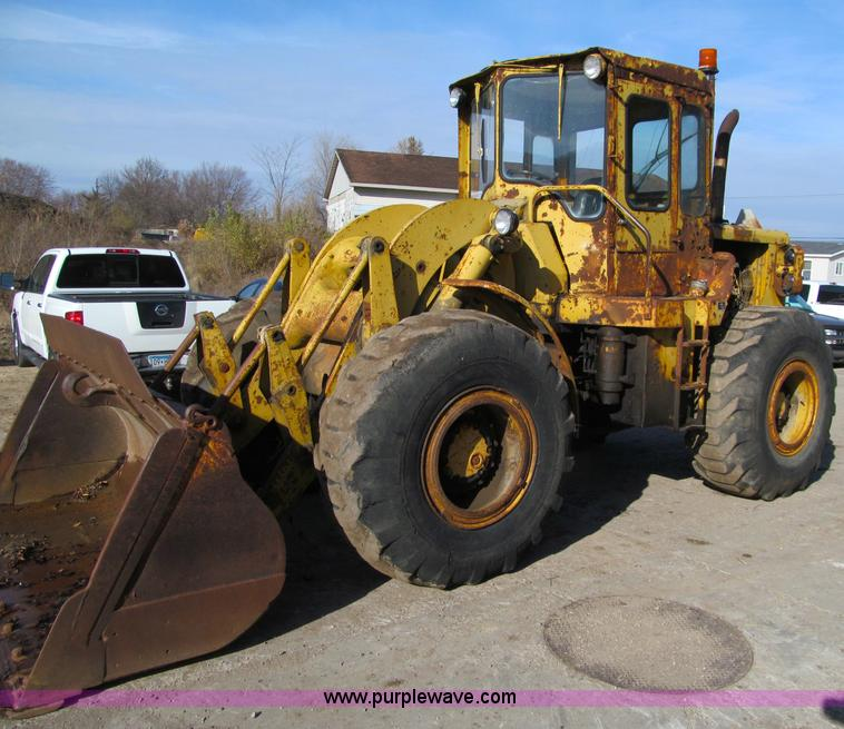 1965 caterpillar 950 wheel loader item f5630 sold thurs rh purplewave com Caterpillar 950G Caterpillar 950M Tractors