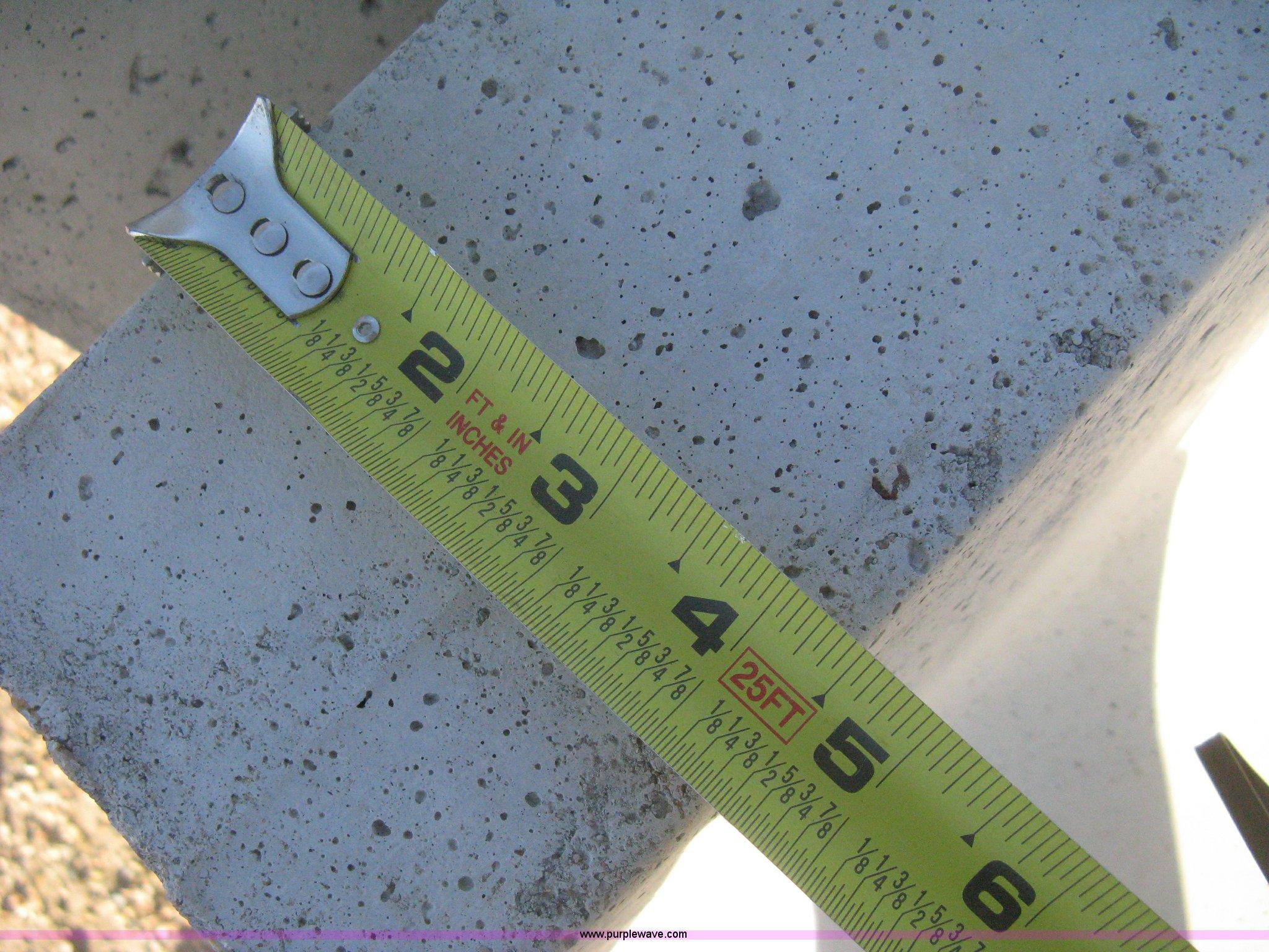 12 Concrete Feed Bunks Item B8475 Sold Thursday