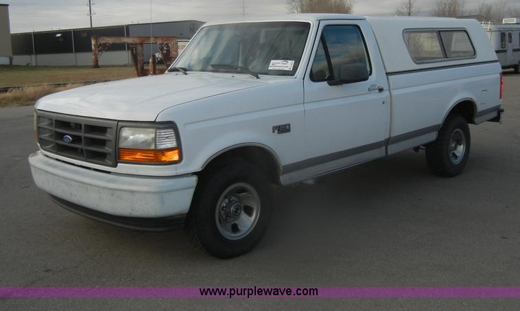 1996 Ford F150 Xl Pickup Truck No Reserve Auction On