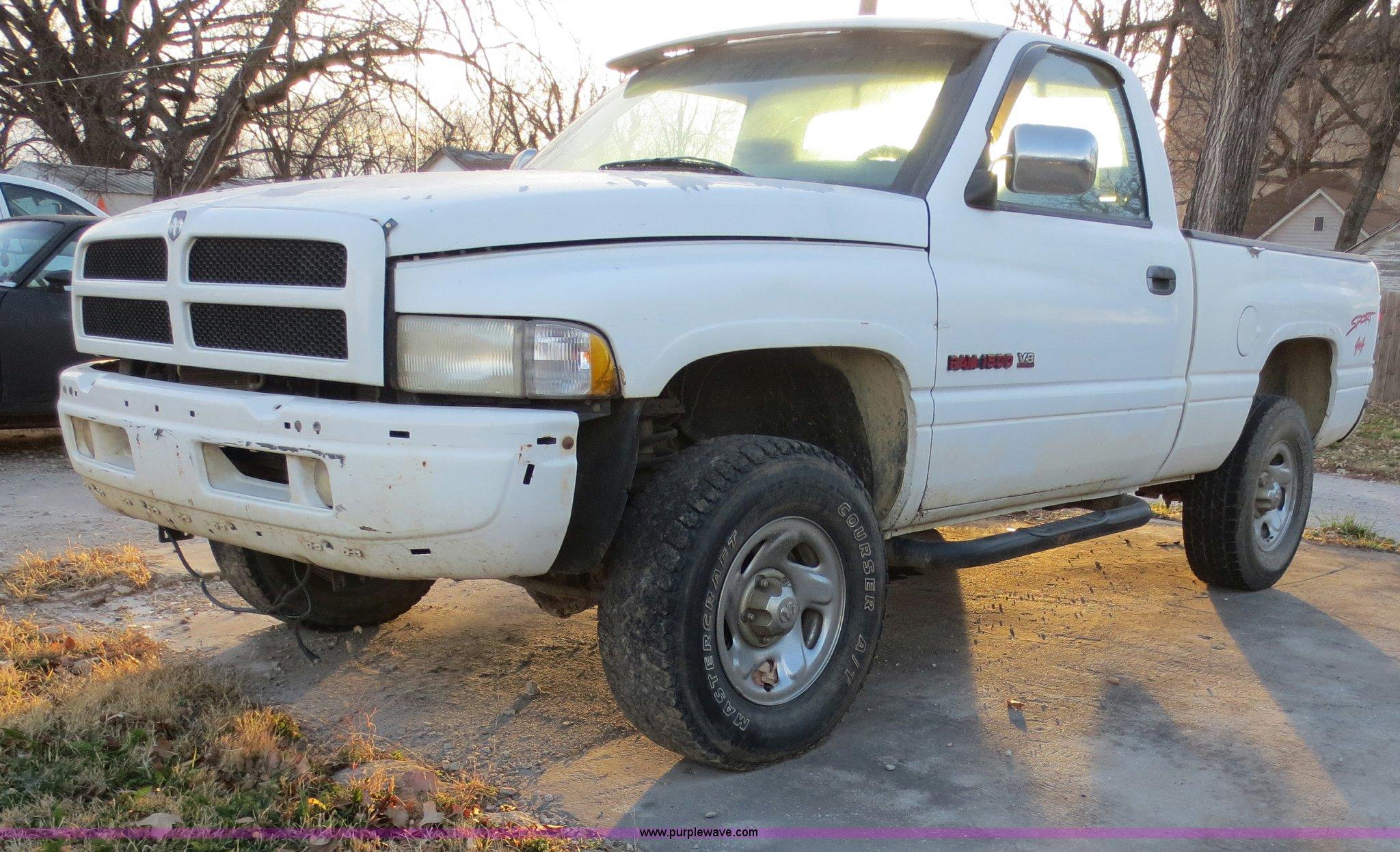 1997 dodge ram 1500 lt 59l v8 ohv 16v gas engine item f65