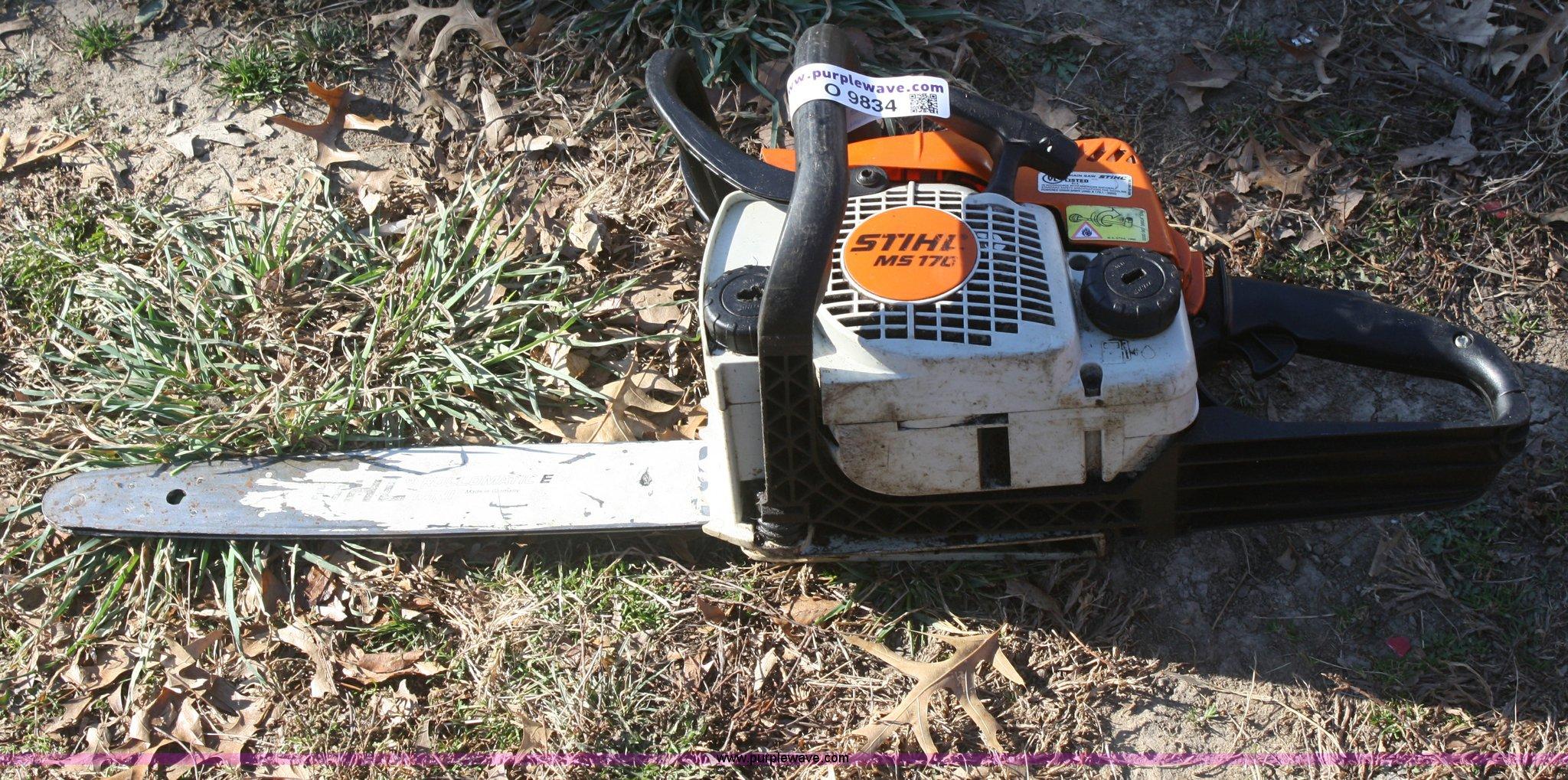 Stihl MS170 chain saw | Item O9834 | SOLD! Thursday December