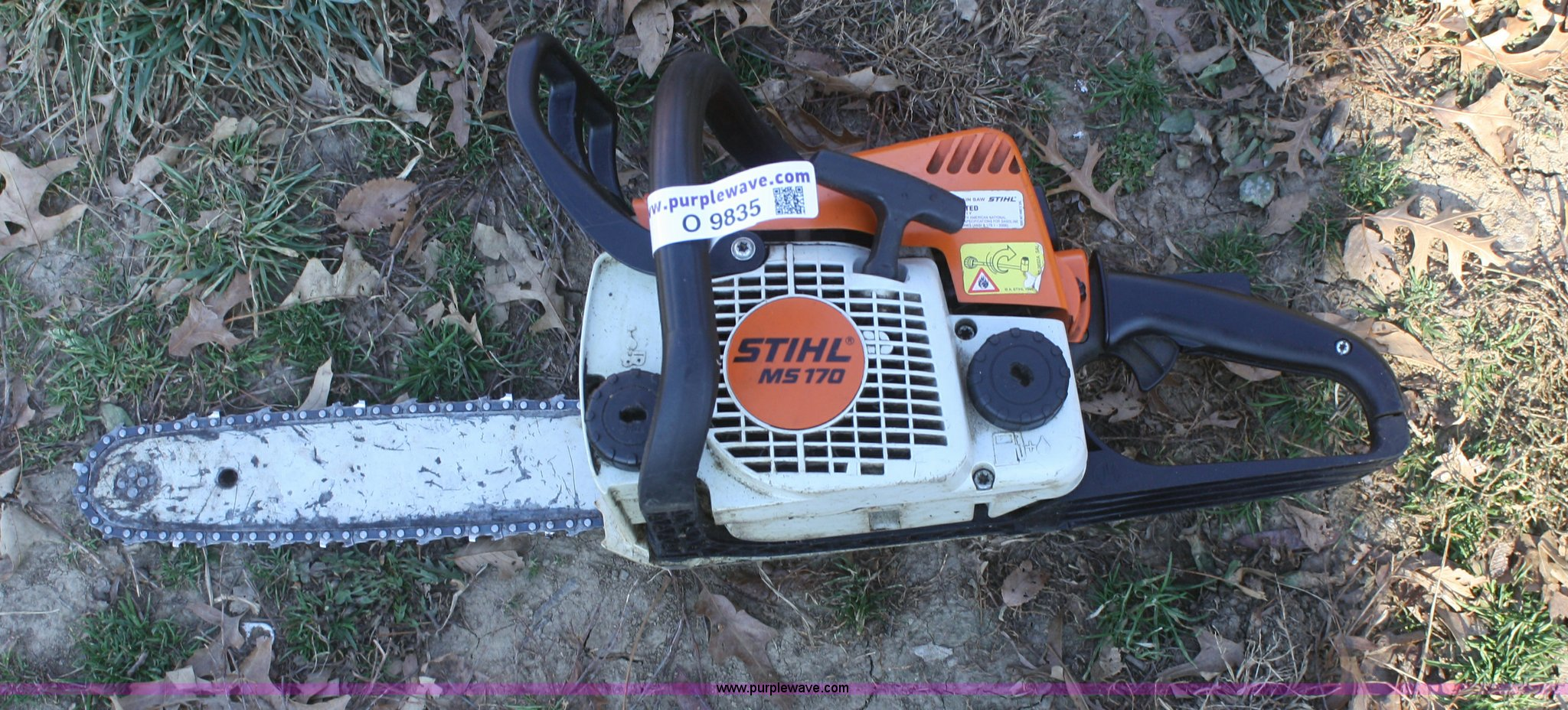 Stihl MS170 chain saw | Item O9835 | SOLD! Thursday December