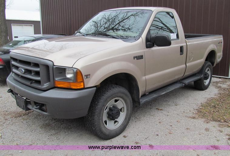 1999 Ford F250 Super Duty Xl Pickup Truck Item D7027 Sol