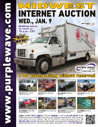 View January 9 Midwest Auction flyer