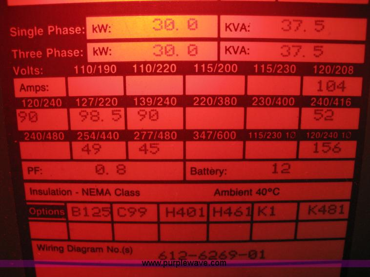 Onan 30 EK generator | Item B8334 | SOLD! January 9 Midwest ... Onan Ek Wiring Diagram on lesco wiring diagram, generator wiring diagram, bomag wiring diagram, sears wiring diagram, karcher wiring diagram, atlas wiring diagram, detroit wiring diagram, rv wiring diagram, ignition coil wiring diagram, liebherr wiring diagram, transfer switch wiring diagram, bush hog wiring diagram, taylor wiring diagram, briggs and stratton wiring diagram, dorman wiring diagram, sullair wiring diagram, clark wiring diagram, gilson wiring diagram, schematic wiring diagram, voltage regulator wiring diagram,