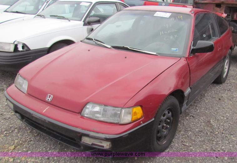 1991 Honda Civic CRX | Item E8272 | SOLD! January 9 Midwest