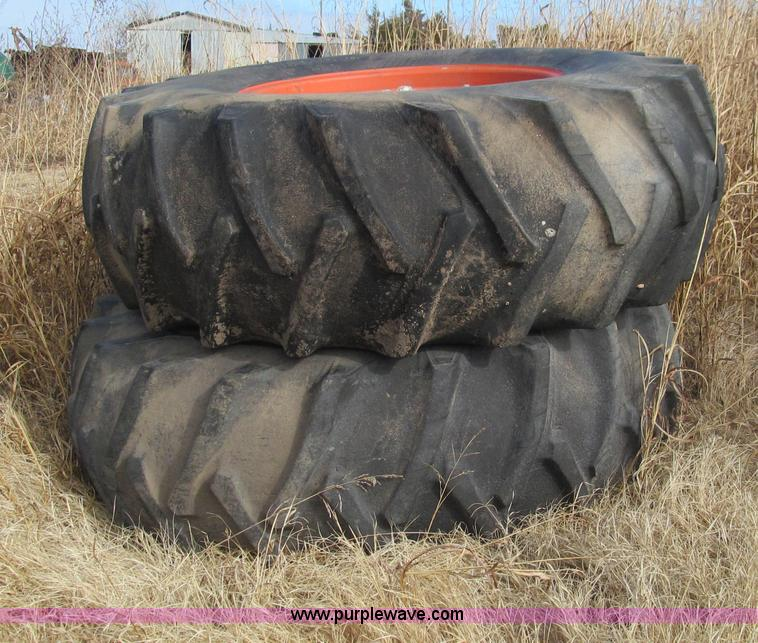 34 Tractor Tires And Rims : Used construction agricultural equip trucks trailers