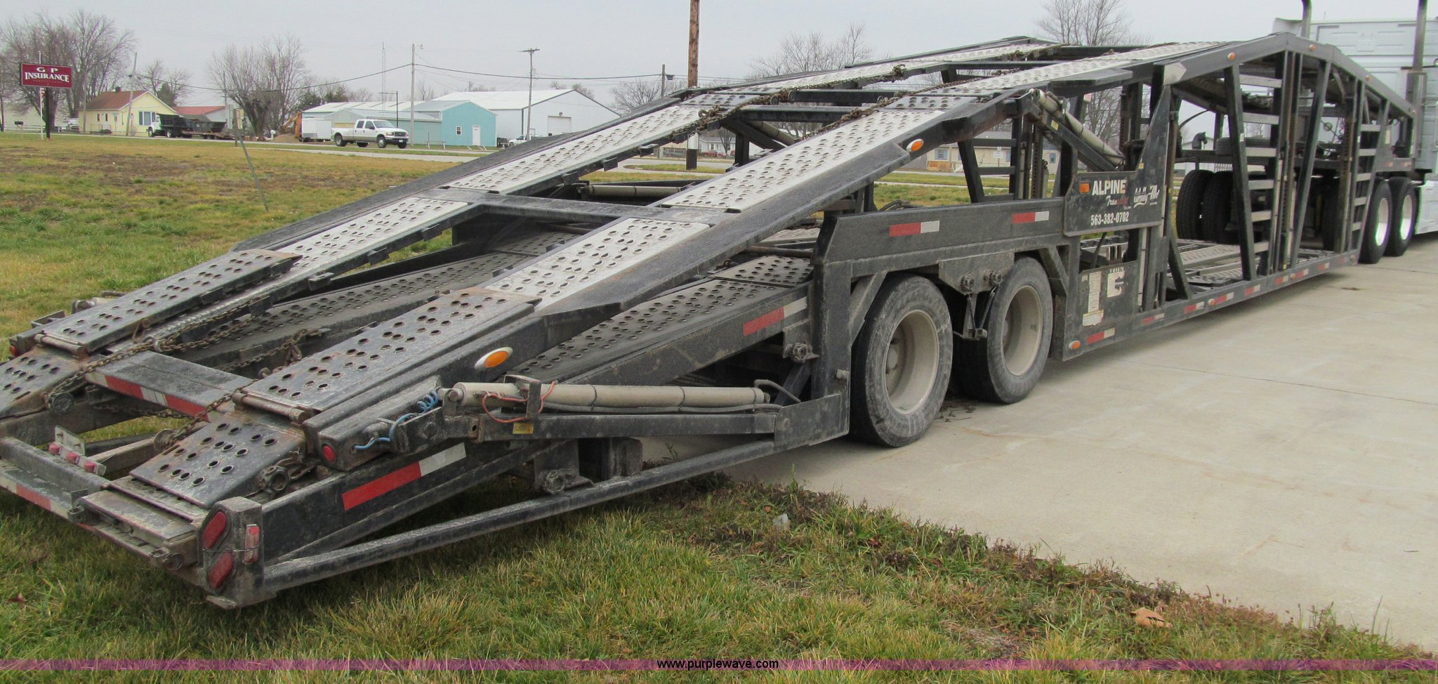 2008 Wally-Mo H-8CC tandem axle car trailer | Item D7023 | S...