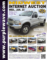 View January 23 Midwest Auction flyer