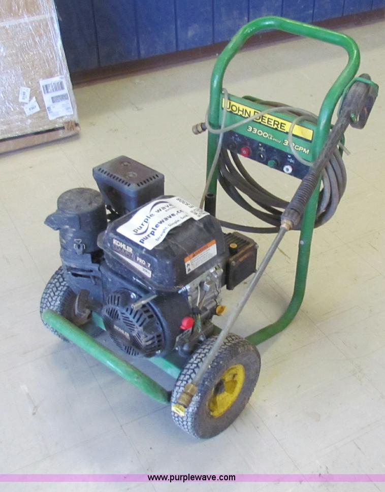 2006 john deere power washer item e8308 sold january 23 rh purplewave com  john deere power washer 3300 psi manual