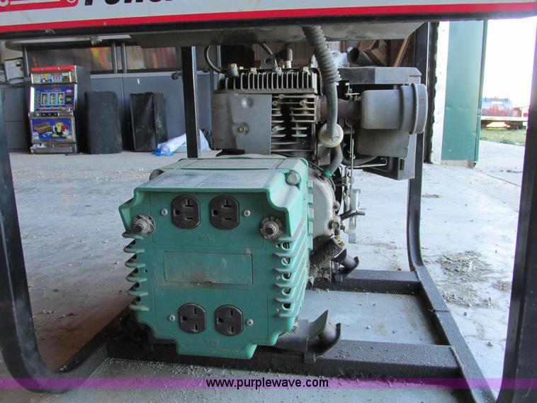 Coleman Powermate 4000 generator | Item Y9717 | SOLD! Januar