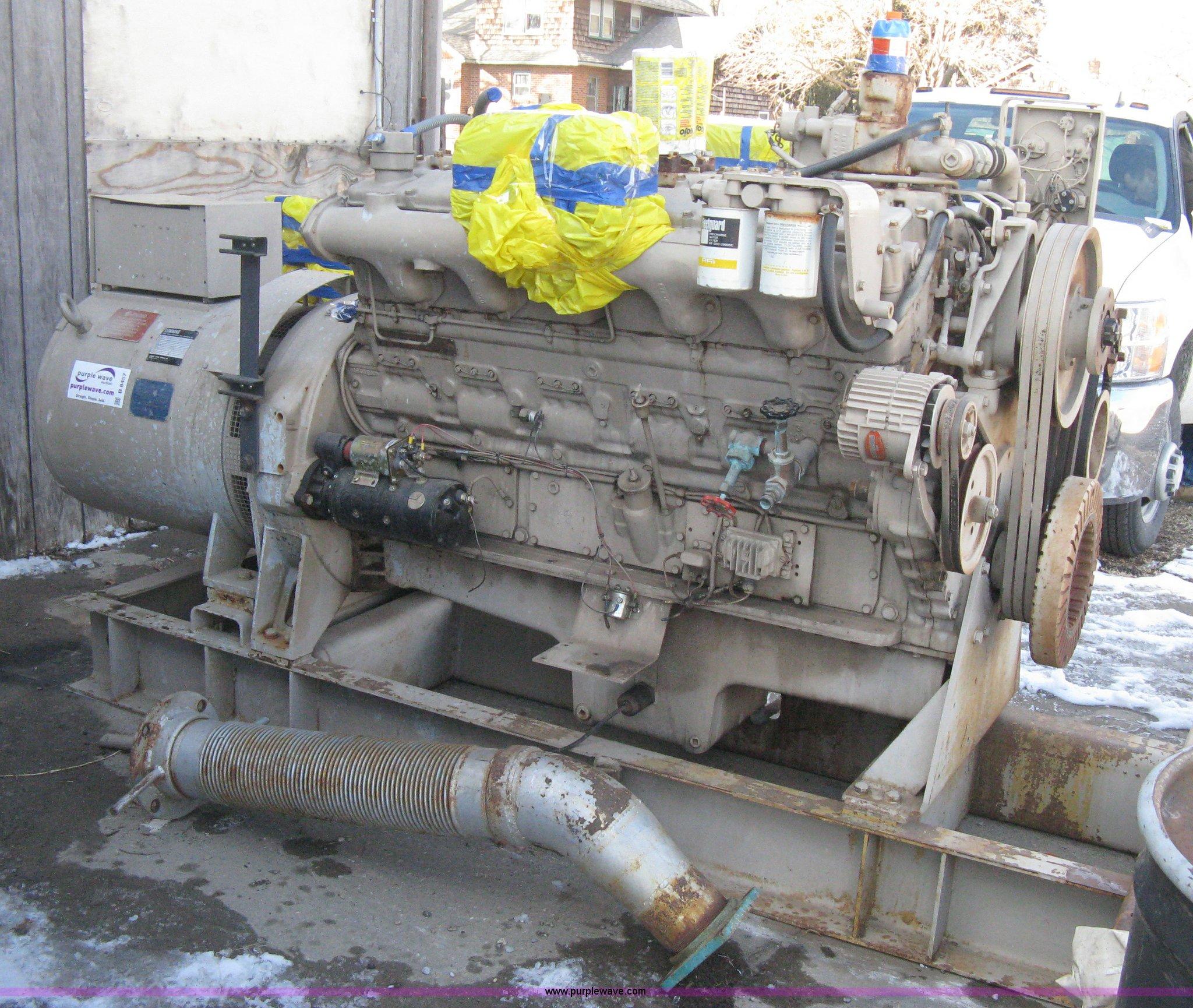 Cummins sel powered generator Item B8457
