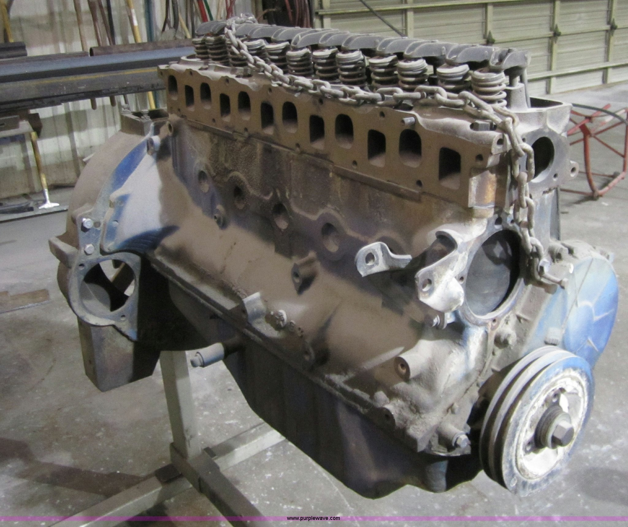ford industrial 300 cid six cylinder engine item d5747