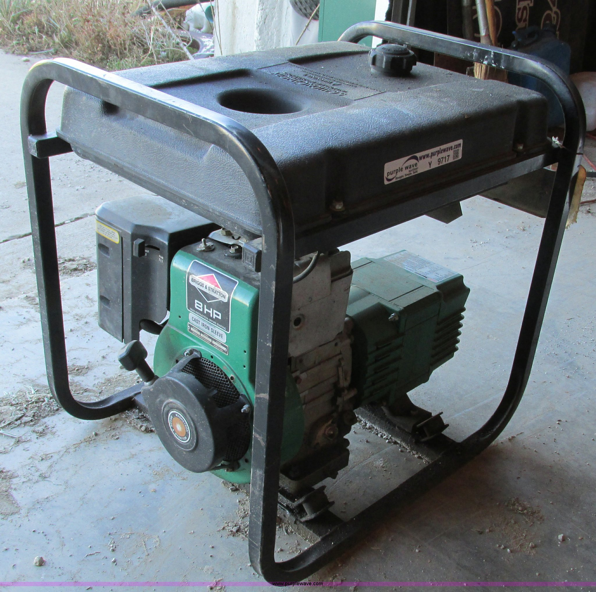 Coleman powermate 4000 generator item y9717 sold januar powermate 4000 generator full size in new window asfbconference2016 Image collections