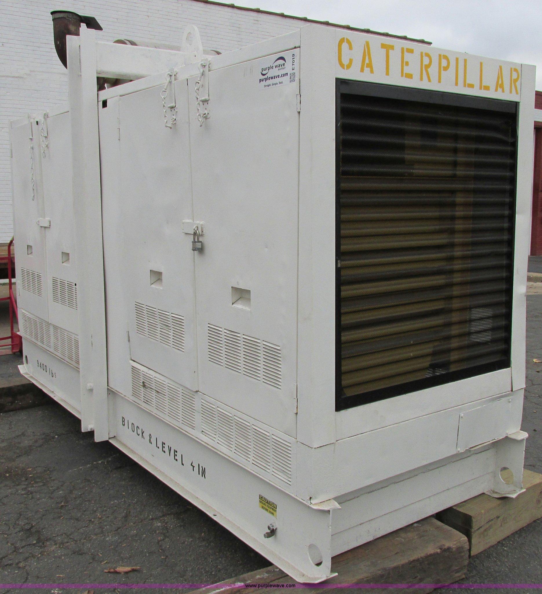 Caterpillar 250 kVA 200 kW continuous output generator set