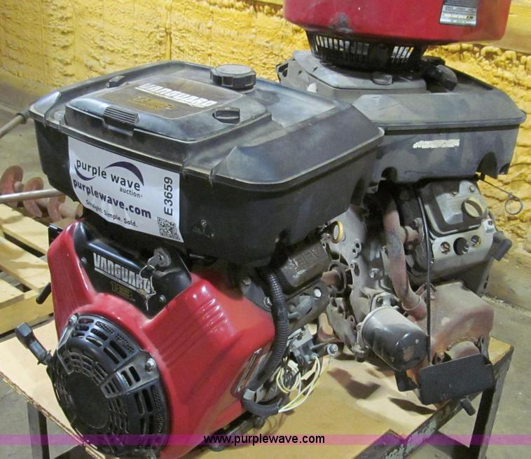 Briggs & Stratton Vanguard V-twin gas engine | Item E3659 | ...