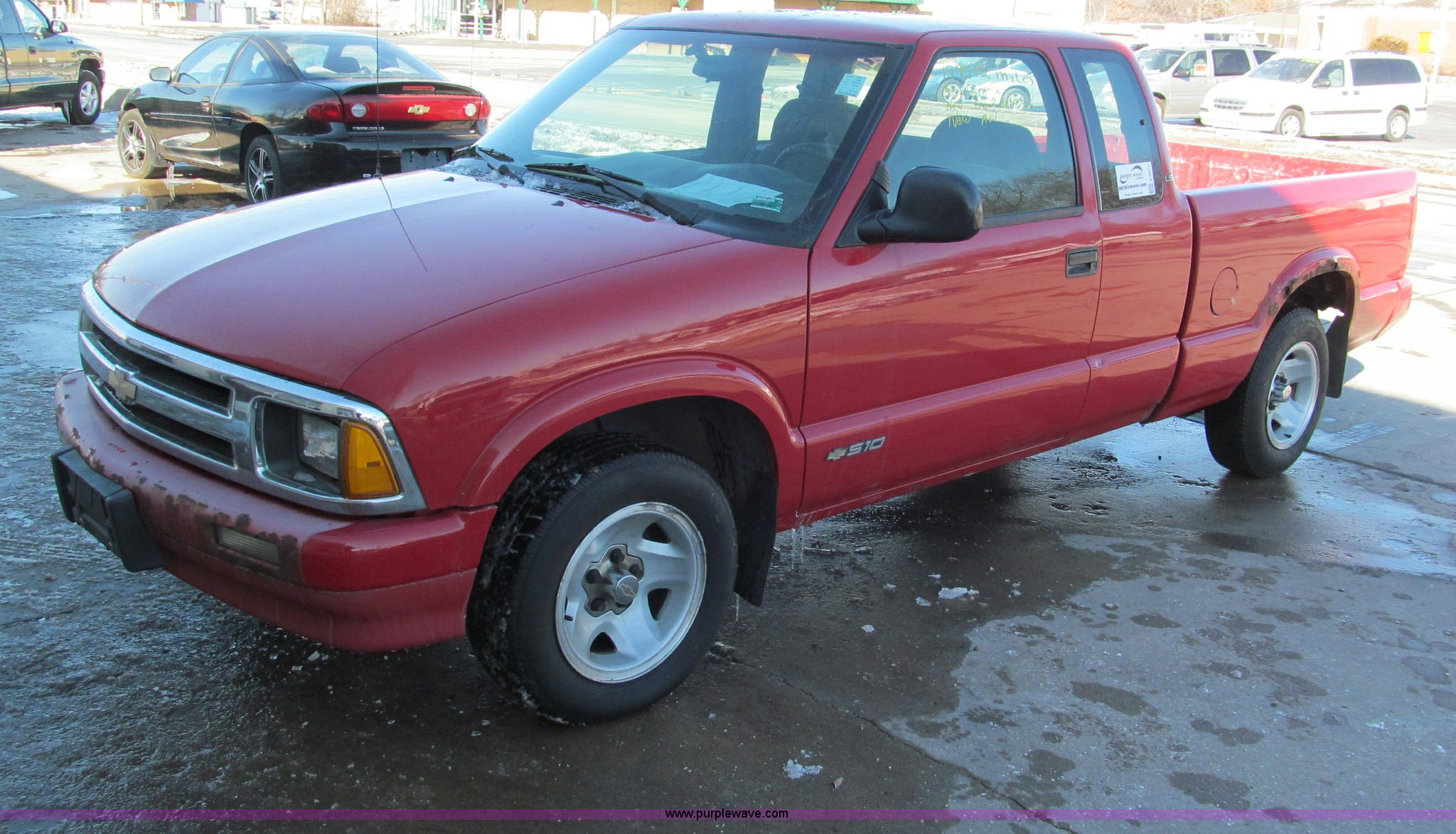 1995 Chevrolet S10 Ls Extended Cab Pickup Truck In Harrisonville Mo Item E5872 Sold Purple Wave