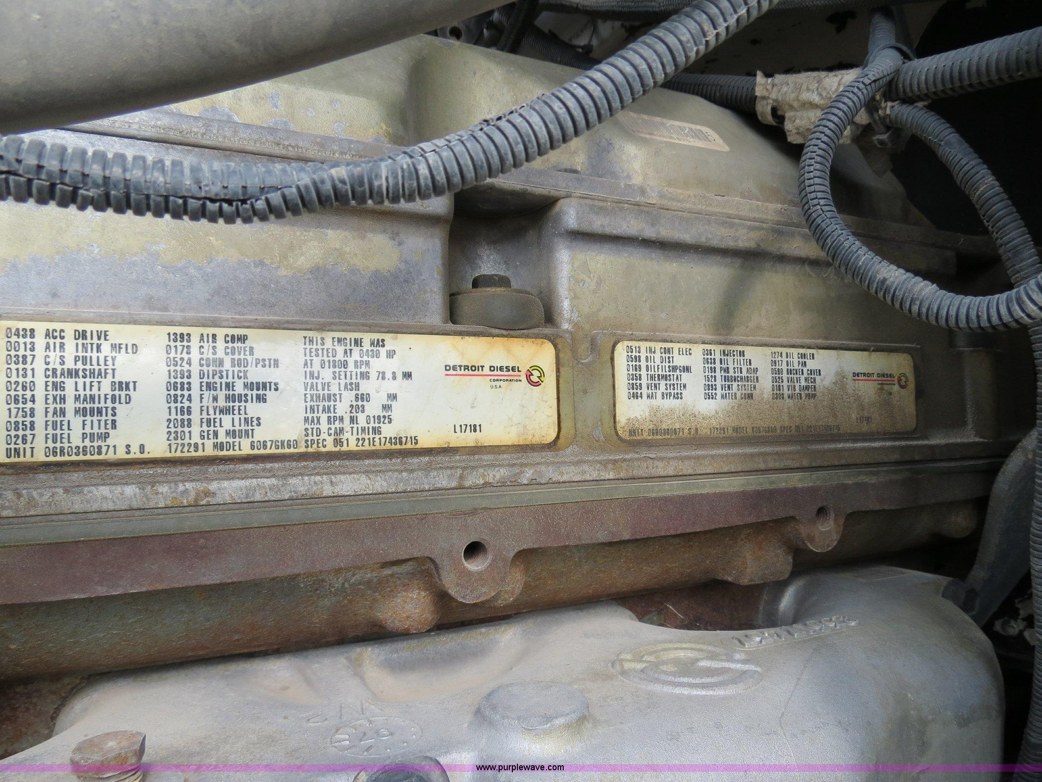 1998 Peterbilt 377 semi truck | Item B4584 | SOLD! February