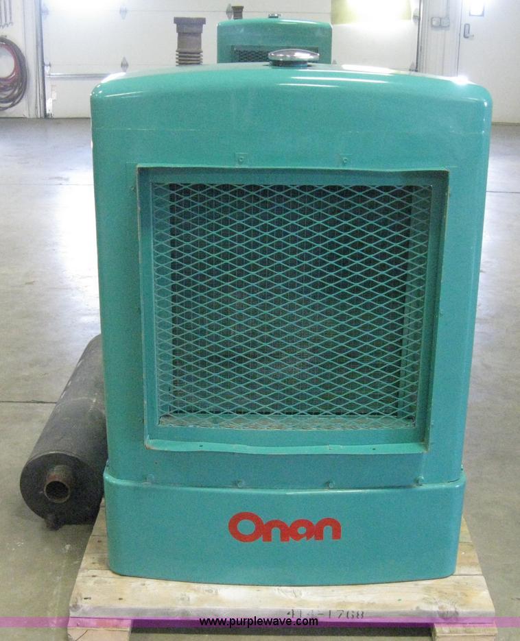 Onan 30 ek generator for sale | sold at auction february 20, 2013.