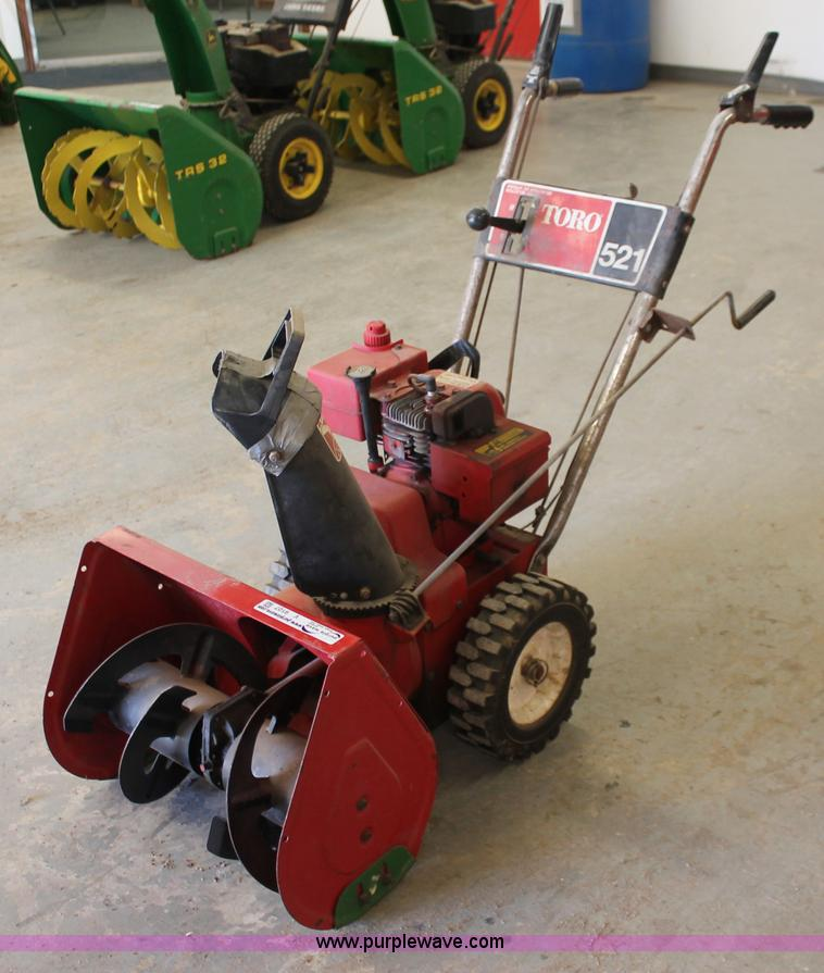 toro 521 snow blower item v9107 sold february 20 midwes rh purplewave com toro snowblower owners manual download toro snow blower user manual