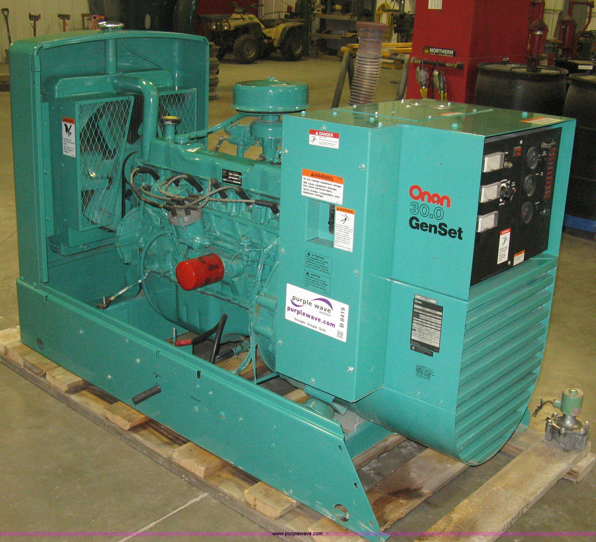 Mcgraw edison onan generator manual.