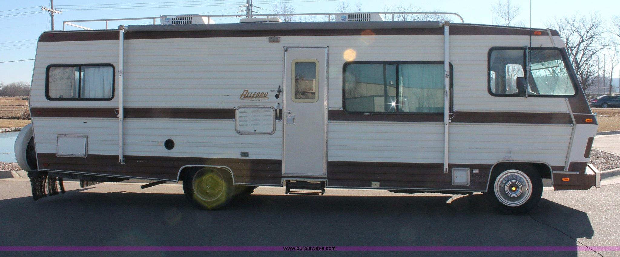1984 Chevrolet Allegro Tiffin recreational vehicle   Item E2