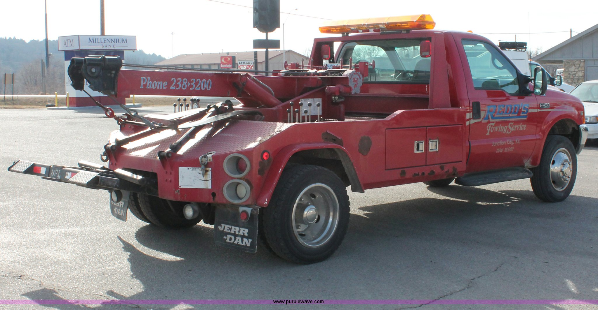 E2545D 1998 ford f450 super duty tow truck item e2545 sold! feb  at readyjetset.co
