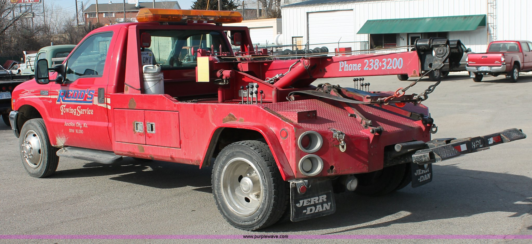 E2545F 1998 ford f450 super duty tow truck item e2545 sold! feb  at virtualis.co