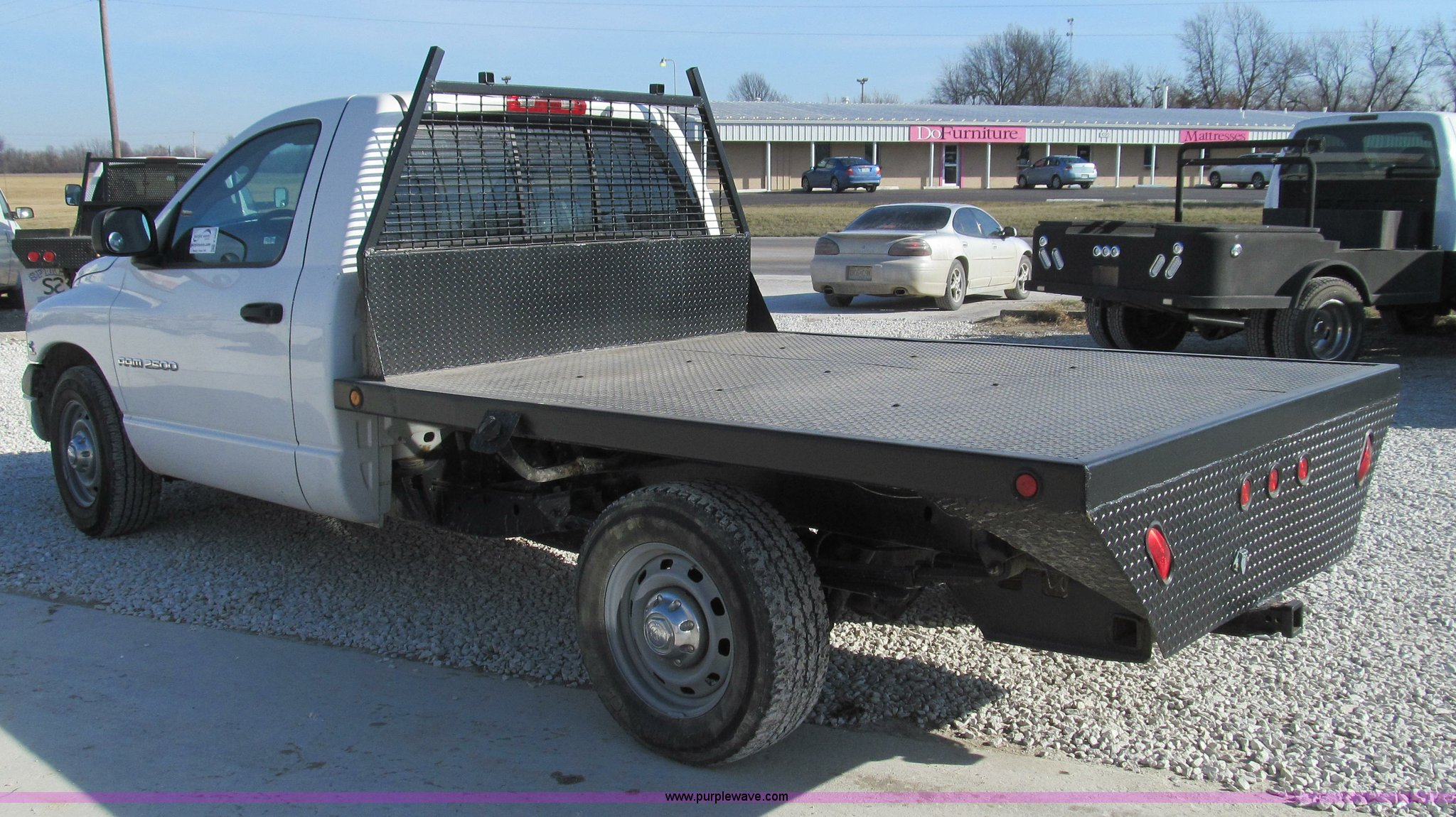 2003 Dodge Ram 2500 Flatbed Truck Item E3680 Sold Febru Full Size In New Window