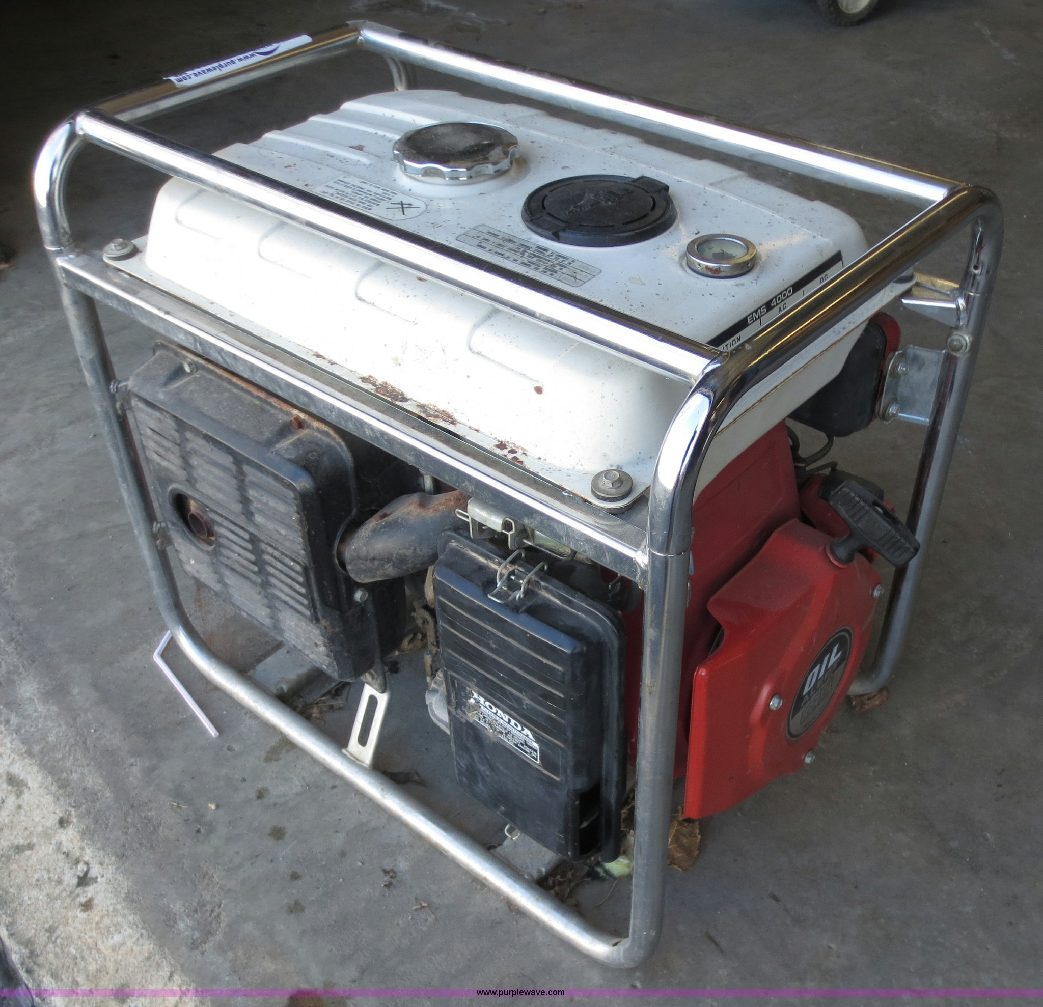 ... Honda 4,000 Watt Generator Full Size In New Window ...