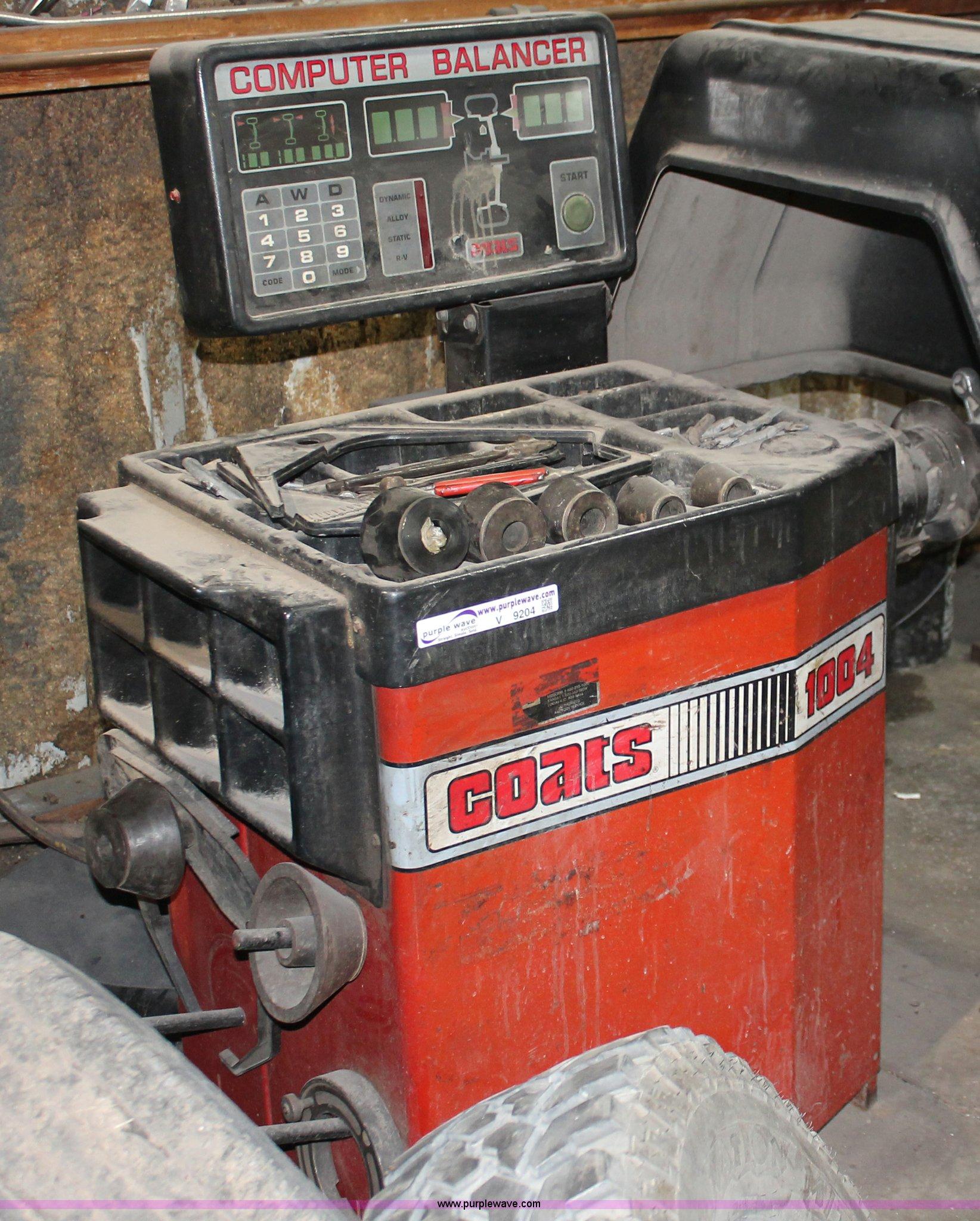 V9204 image for item V9204 Coats 1004 wheel balancer