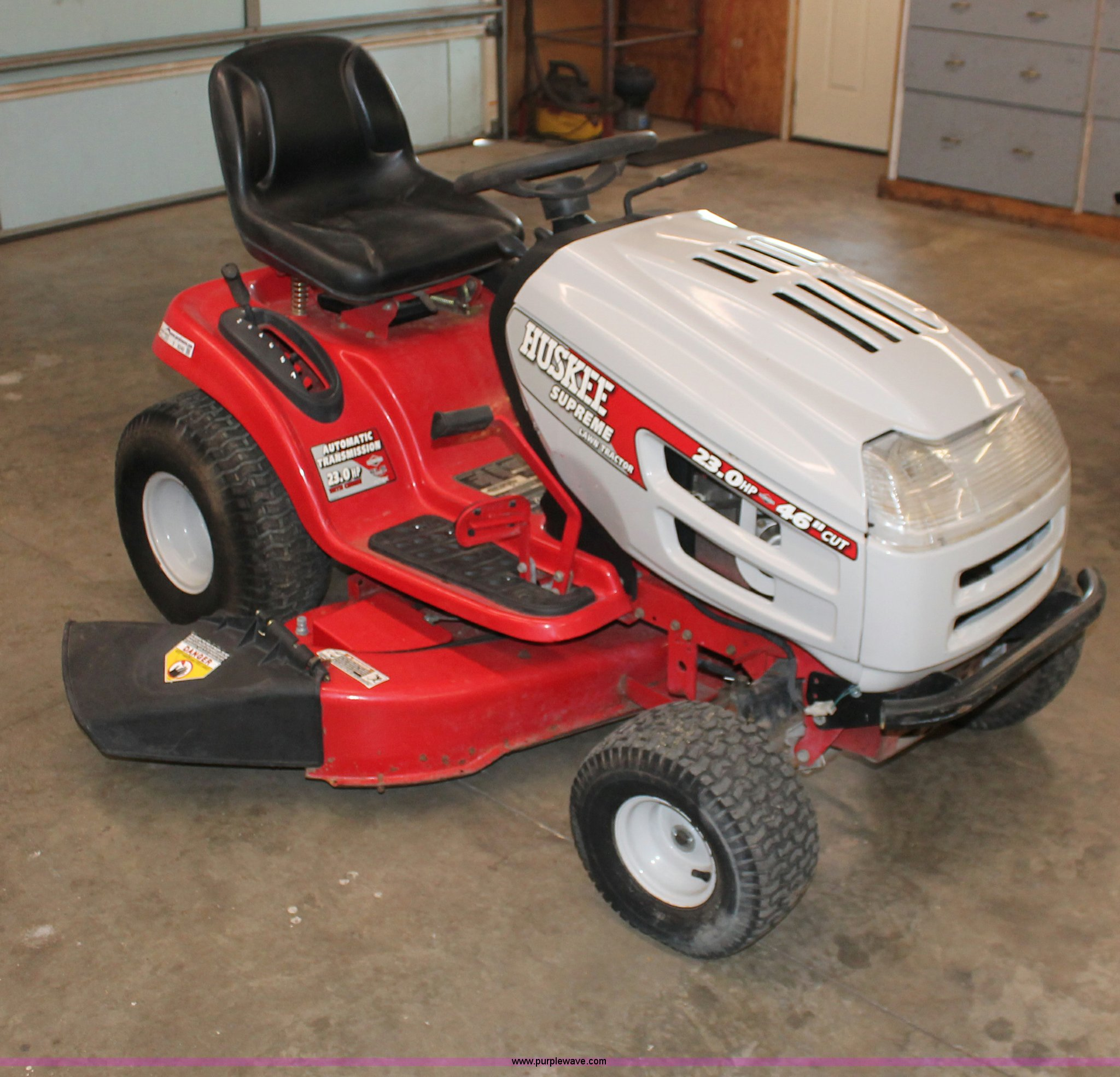 Huskee Supreme lawn mower   Item V9240   SOLD! February 20 M