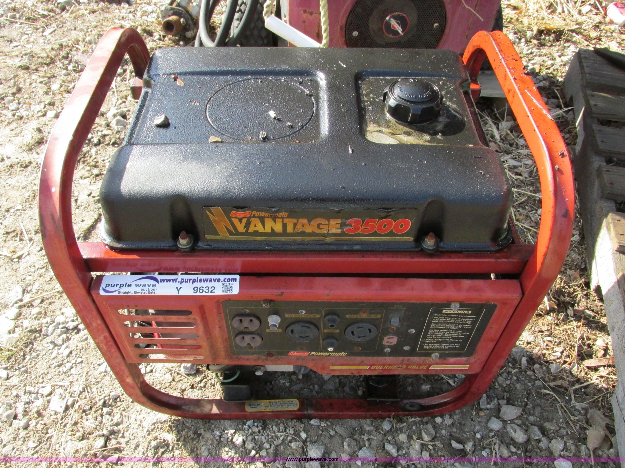 Find more coleman powermate vantage 3500 generator for sale at up.
