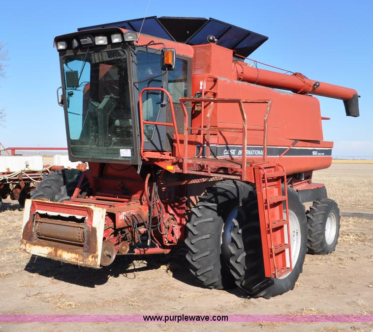 1990 case ih 1680 combine no reserve auction on. Black Bedroom Furniture Sets. Home Design Ideas