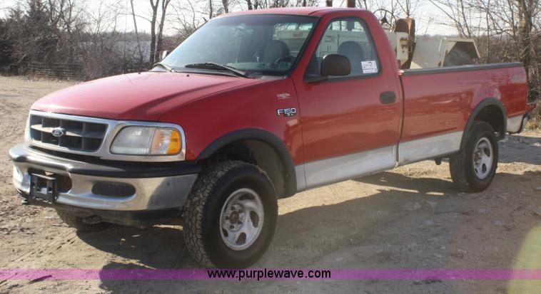 1997 ford f150 xl pickup truck item f2853 sold february. Black Bedroom Furniture Sets. Home Design Ideas