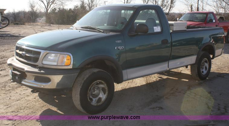 1997 ford f150 xl pickup truck no reserve auction on thursday february 28 2013. Black Bedroom Furniture Sets. Home Design Ideas