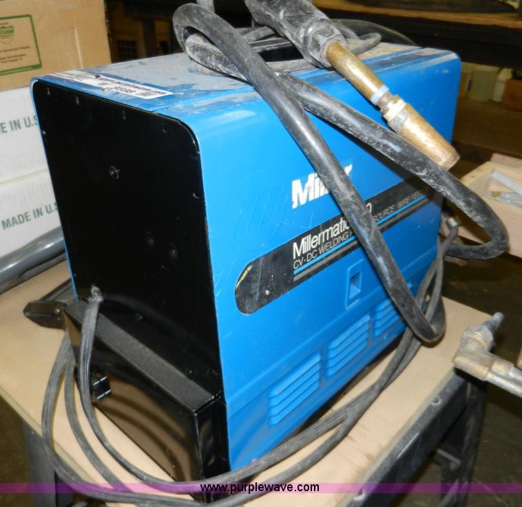 Miller Millermatic 130 welder | Item W9598 | SOLD! February ...