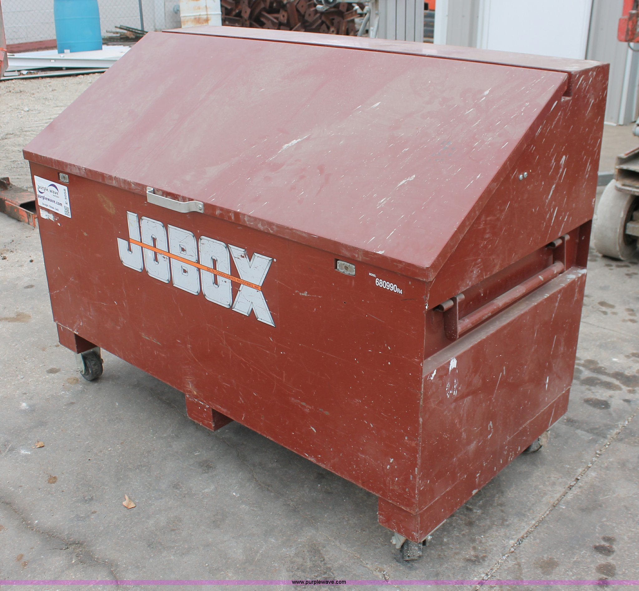 Gang Box For Sale >> Jobox Roll Around Gang Box Item E3058 Sold February 28