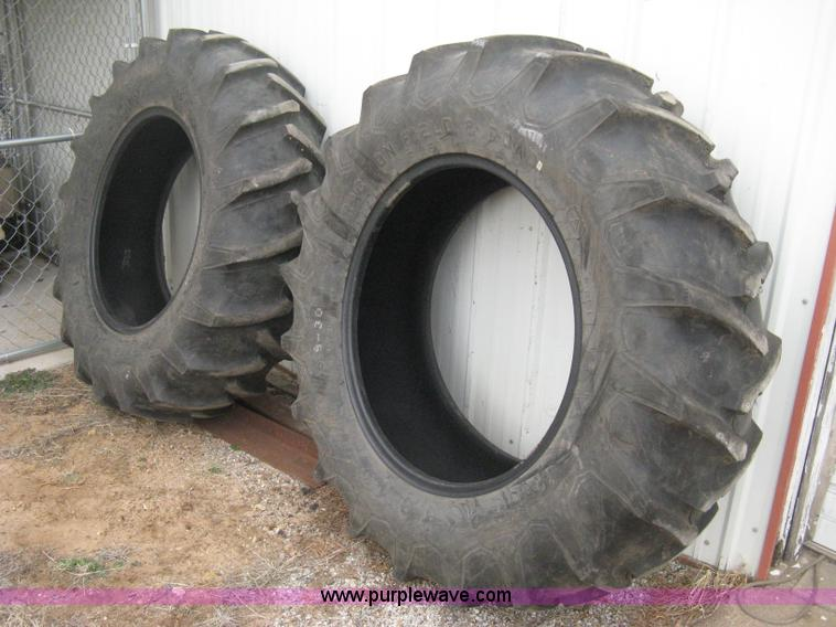 Used Tractor Tires For Sale >> 2 Firestone 16 9 30 Tractor Tires Item E3090 Sold Mar