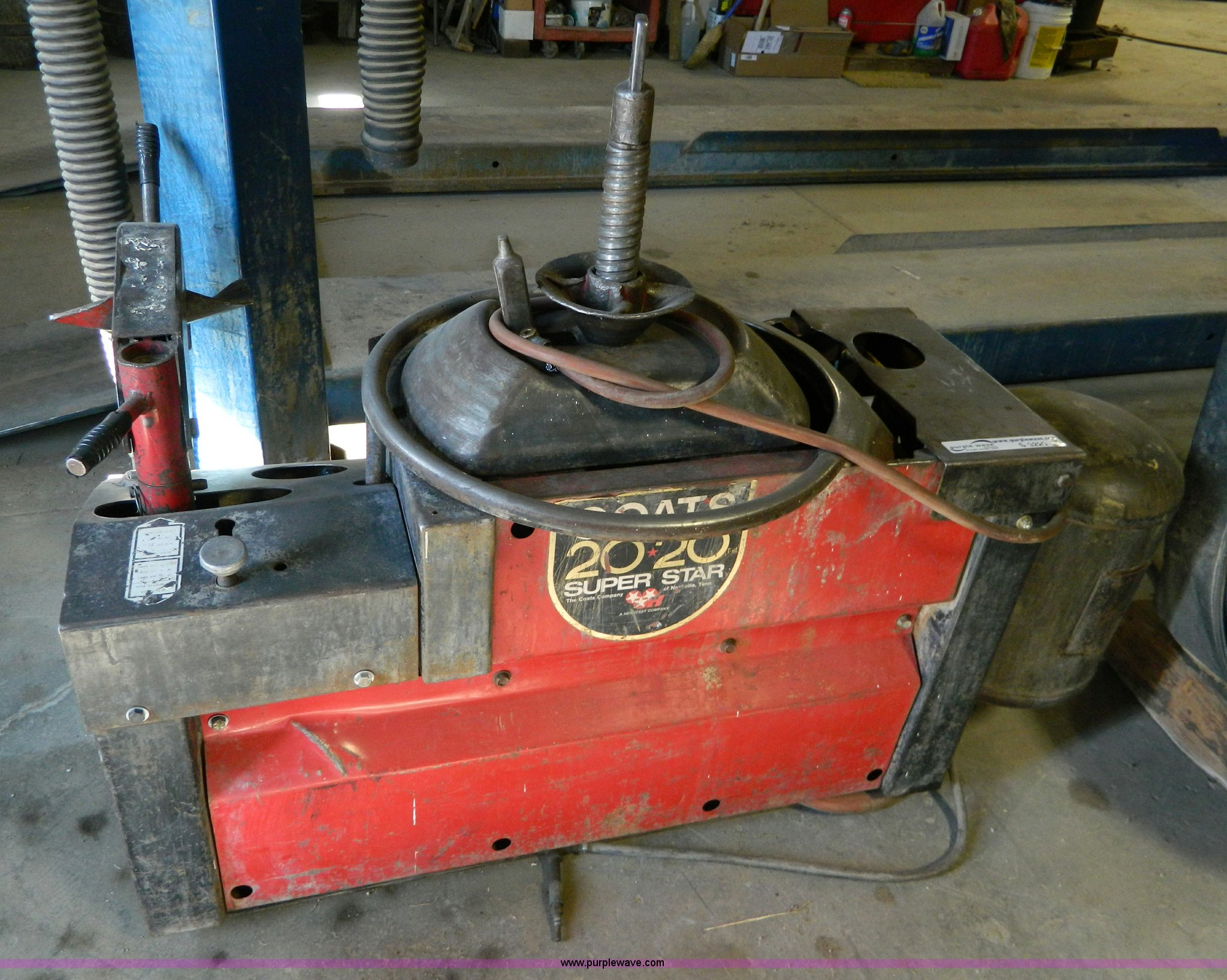 Coats 20 20a Tire Changer Item S9229 Sold March 5