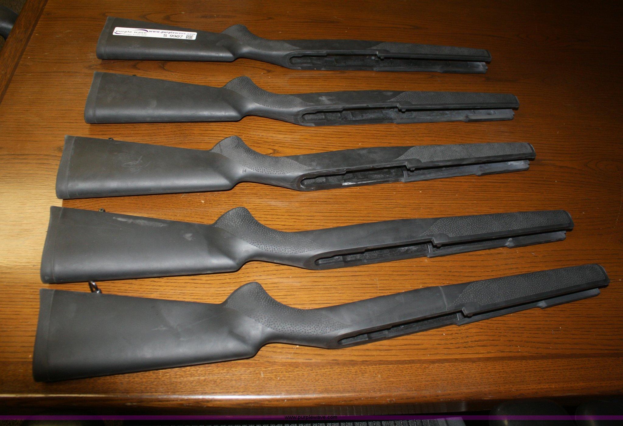 5) Hoge Ruger Mini-14 rifle stocks | Item S9907 | SOLD! Mar