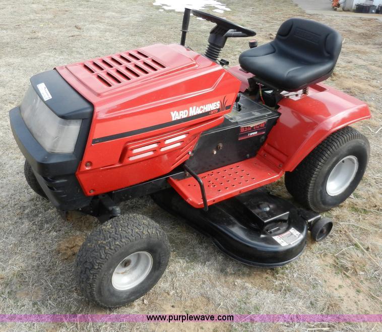 Yard Machines Garden Tractor : Mtd yard machine lawn tractor item ab sold march