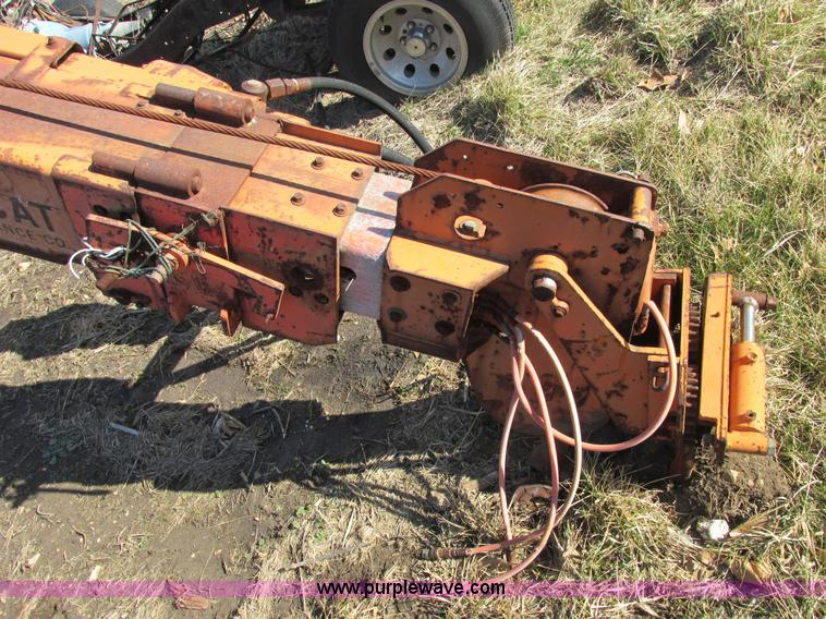 Pitman Polecat hydraulic boom and auger assembly | Item E705