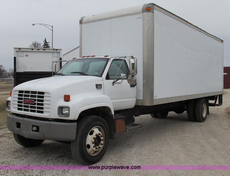 1999 Gmc C6500 Box Truck Item F4715 Sold March 6