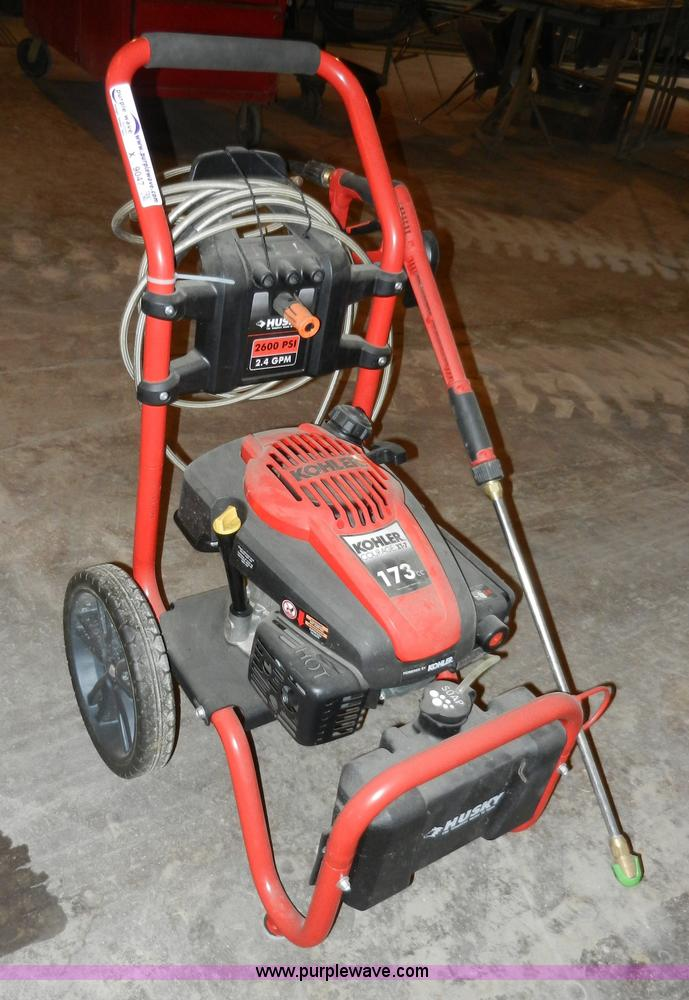 kohler courage xt 7 pressure washer husky x9047 image for item husky power washer item sold march midwest auct