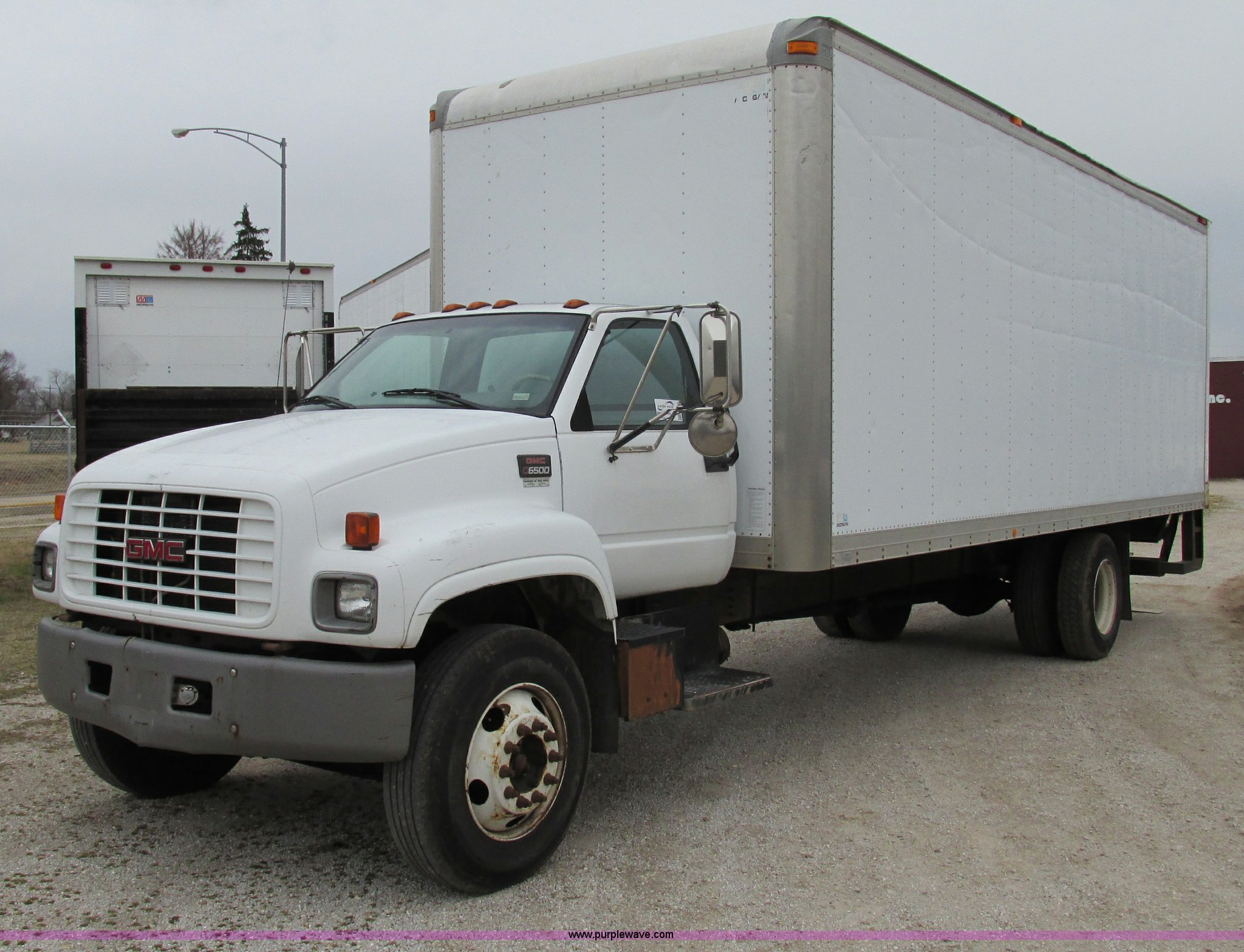 1999 gmc c6500 box truck item f4715 sold! march 6 midwes GMC Dump Truck f4715 image for item f4715 1999 gmc c6500 box truck