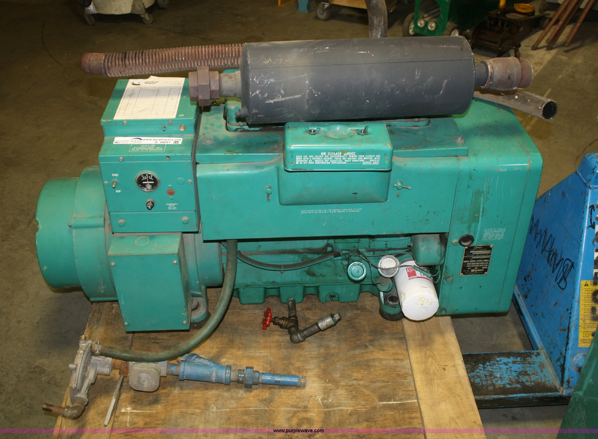 Onan 15 kW generator set | Item S9891 | SOLD! March 6 Midwes