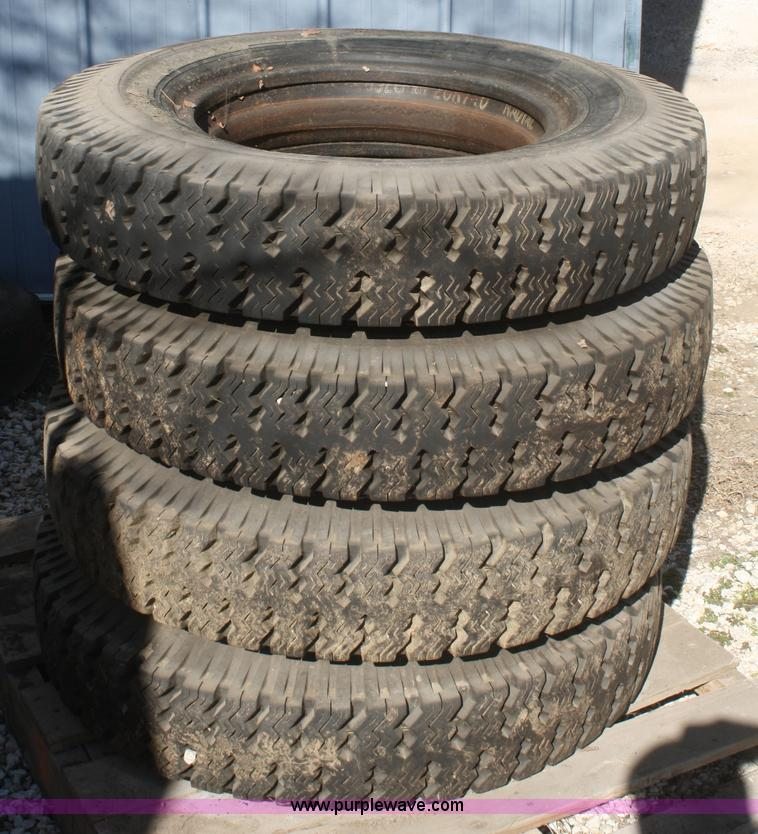 4 8 25 20 Tires Item V9506 Sold March 13 Ag Equipment