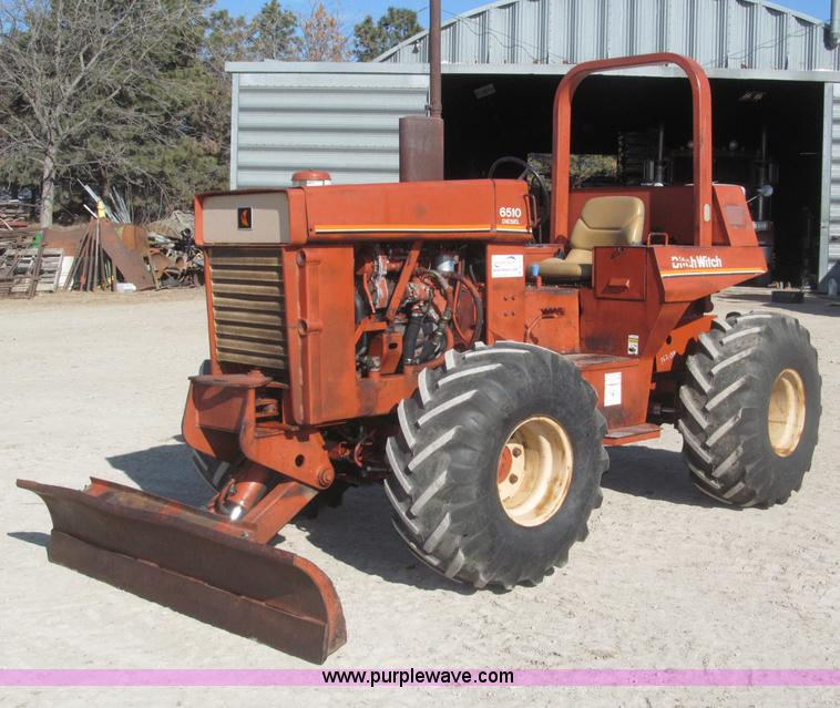 ditch witch 6510 ro trencher item b5373 sold march 13 u rh purplewave com Used Trencher Parts Ditch Witch 6510 Specs